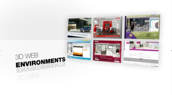 3D web environments. VC pitch