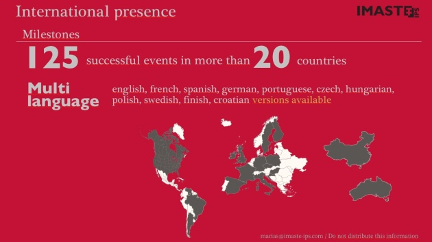 International presence. VC pitch