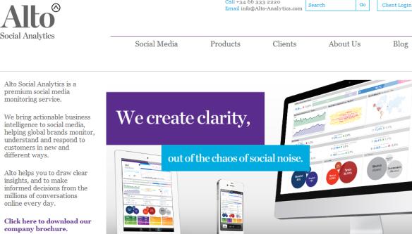 alto social analytics